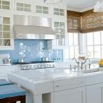 Cocina azul serenidad