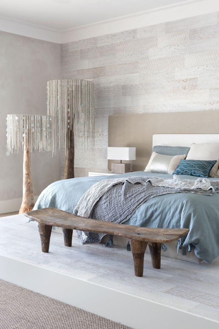 Dormitorio azul serenidad