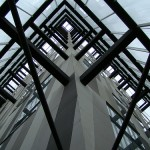 caja de vidrio Torres Siamesas 2005